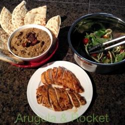 Harissa Chicken Meal