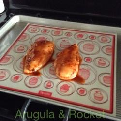 Harissa Chicken On Mat