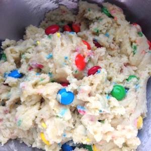 Funfetti Cake Mix Cookies Dough