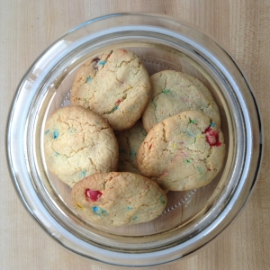 Funfetti Cake Mix Cookies In Jar