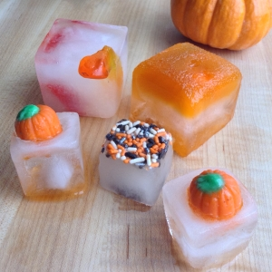 Halloween Cocktails Ice Cubes
