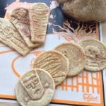 Spookadoodle Snickerdoodle - Cookies in Fan with Jar