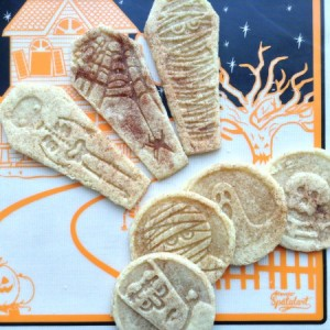 Spookadoodle Snickerdoodle - Fan Cookies Square