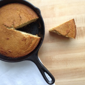 Thanksgiving Skillet Cornbread Main