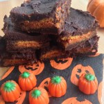 Three Ingredient Pumpkin Oreo Brownies Main Image