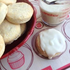 Biscuits & Gravy Gravy on Biscuit