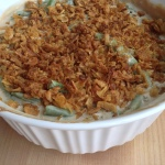 Green Bean Casserole Recipe Top Onions