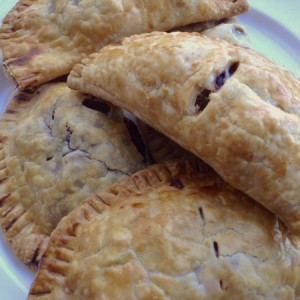 Boxing Day Pasties on Plate