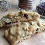Cranberry Pistachio Biscotti Recipe Main Image