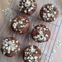 Christmas Countdown: Cranberry Sauce Muffins