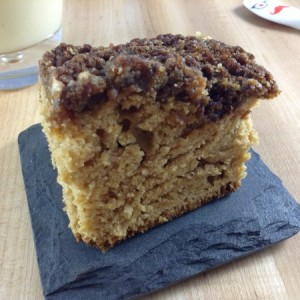 Eggnog Coffee Cake Main
