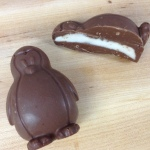 Peppermint Patty Penguin Half