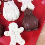 Peppermint Patty Penguins Mint Crunch Gingerbread Men Close Up