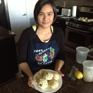 Estellas Gluten Free Scones with Estella