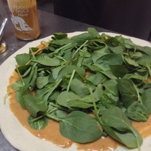 Thaifusions Swimming Rama Thai Pizza Add Spinach