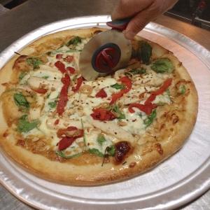 Thaifusions Swimming Rama Thai Pizza Slice