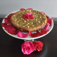 Persian Love Cake with Rose Cream