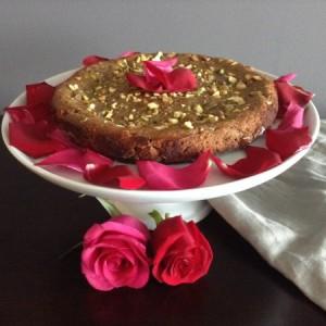 Persian Love Cake Main with Napkin