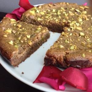 Persian Love Cake Slice