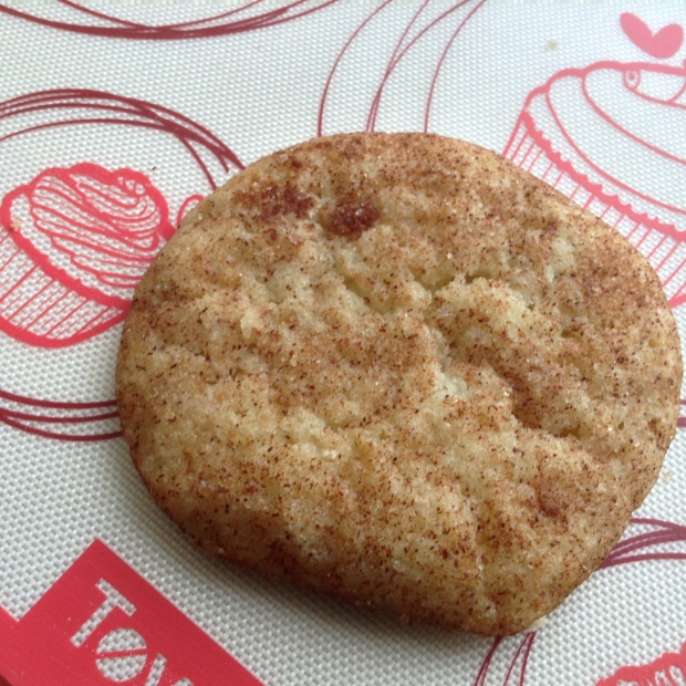 Snickerdoodle Cookie on Baking Mat