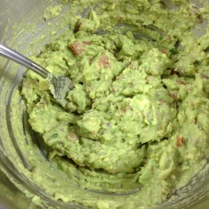 Bacon Guacamole in the Mix