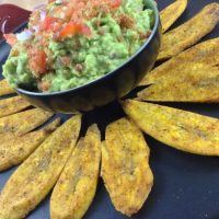 Bacon Guacamole & Plantain Chips