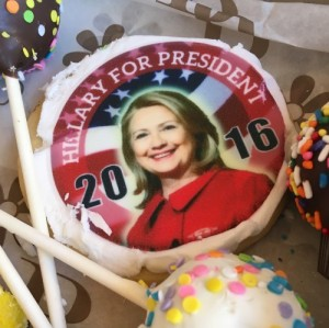 Hilary Clinton Cookie