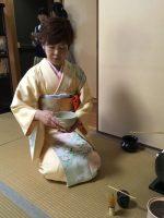 Horinji Temple Tea Ceremony Lady