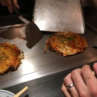 Okonomiyaki Serving