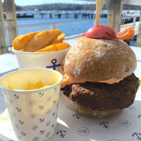 Boat House Veggie Burger