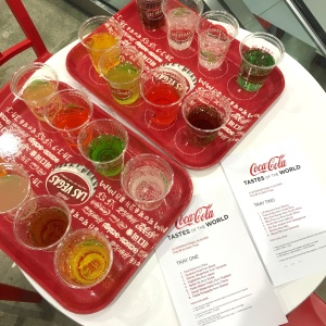 Las Vegas Coca Cola Tastes of the World Tray