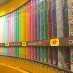 Las Vegas M&M Wall of Colour