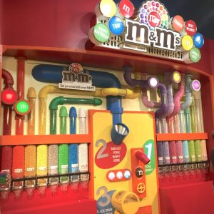 Las Vegas M&Ms Machine