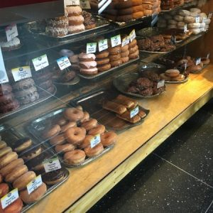 Top Pot Doughnuts Selection