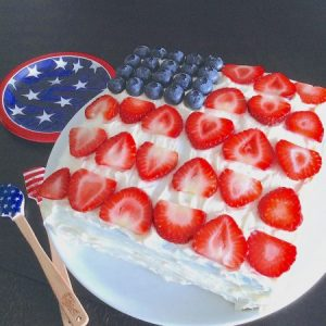 Stars Stripes Cake Main