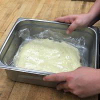 Dahlia Bakery Coconut Cream Pie Plastic Over Filling