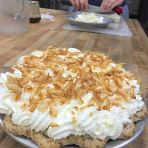 Dahlia Bakery Coconut Cream Pie with Toasted Coconut
