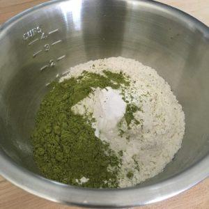 Matcha Green Tea and Rose Donuts Flour Mix