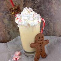 White Christmas Candy Cane Milkshake