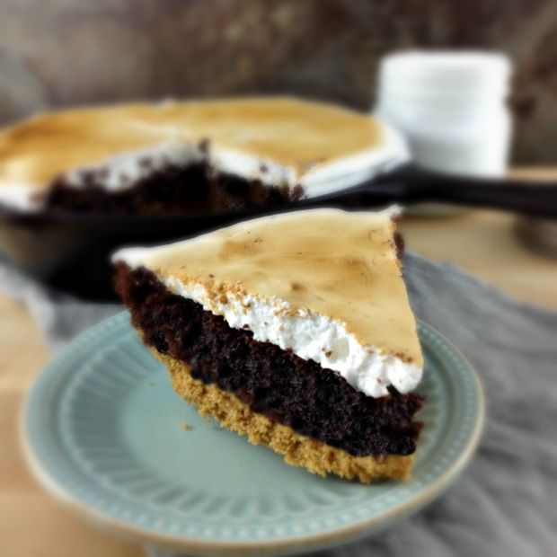 s'mores brownie pie recipe