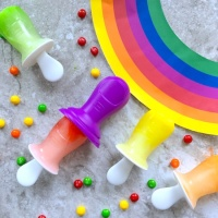 Skittles Rainbow Ice Pops
