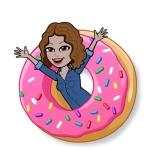 Sonia in a Doughnut