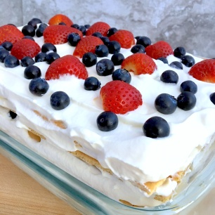 Very Berry Icebox Cake Whole