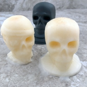 mexican horchata ice skulls with mould