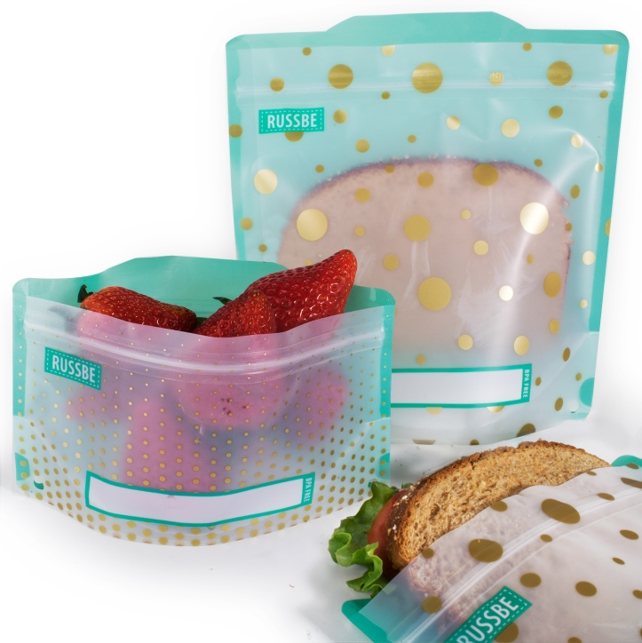 Russbe Reusable Snack and Sandwich Bags