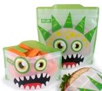 Russbe Reusable Sandwich Bag Green Monster