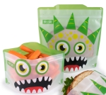 Russbe Reusable Sandwich Bag Green Monster