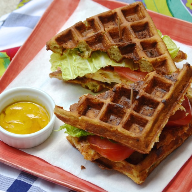 Fried Chicken Waffle BLT