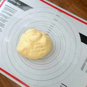Hawaiian bread rolls dough pastry mat