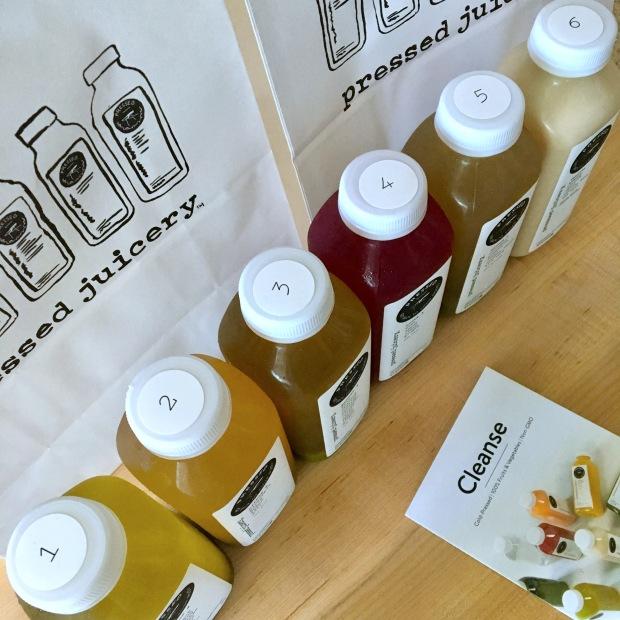 Pressed Juicery Numbered Juices